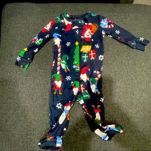 Christmas pijamas size 3months